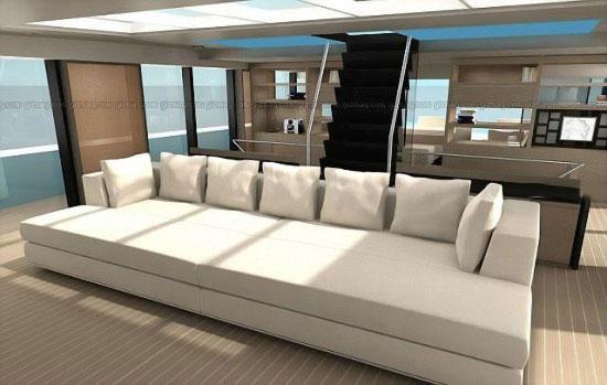 WallyIsland - супершикарная яхта с садом на борту