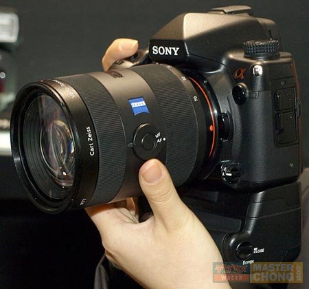 Камера Sony Alpha DSLR-A900 — 24,6-Мп на полном кадре