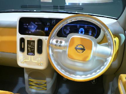 Nissan показала электрокар Denki Cube Concept