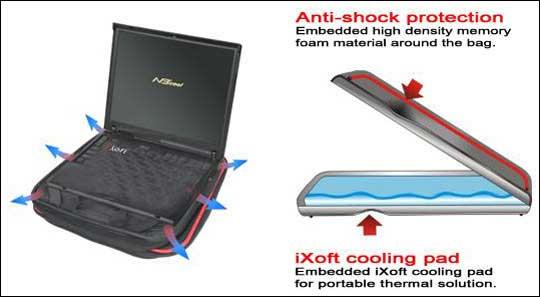 Thermaltake: сумка-холодильник для ноутбука
