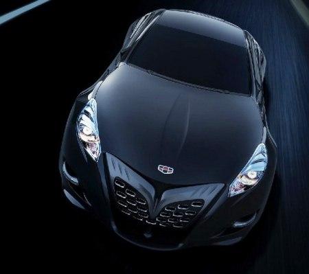 Geely: концепт спорткара GT