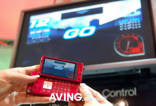 Panasonic: телефон-телевизор VIERA P905i