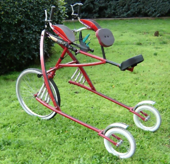 Велосипед-самокат - новое слово в спорте