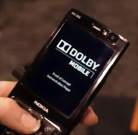 Dolby surround sound для Nokia N95