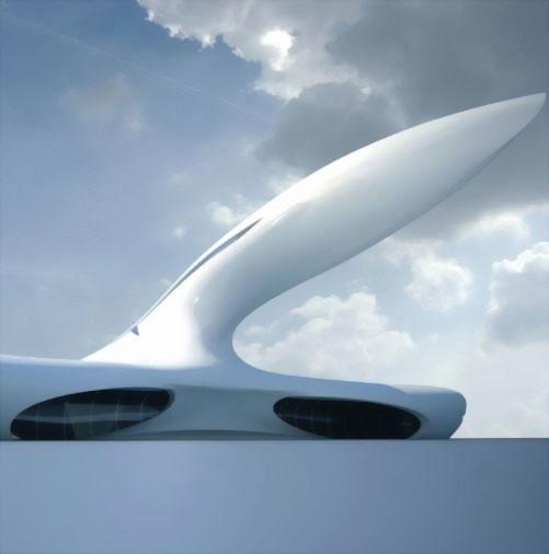 Jet House: космический дом будущего