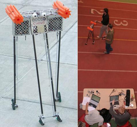 Установлен рекорд дальности ходьбы среди роботов