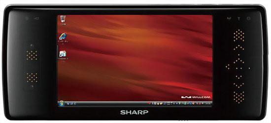 Sharp D4 WS016SH – UMPC на процессоре Atom Centrino