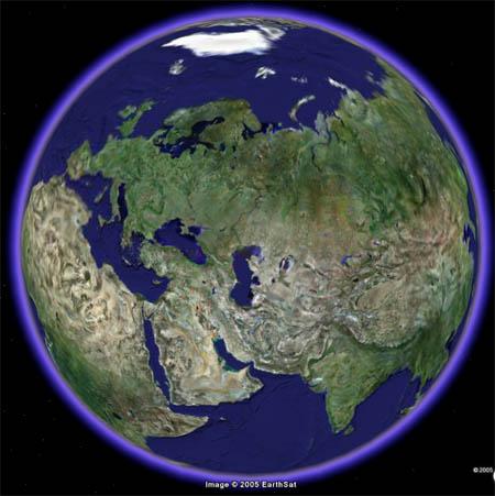 Програмку планетка земля google
