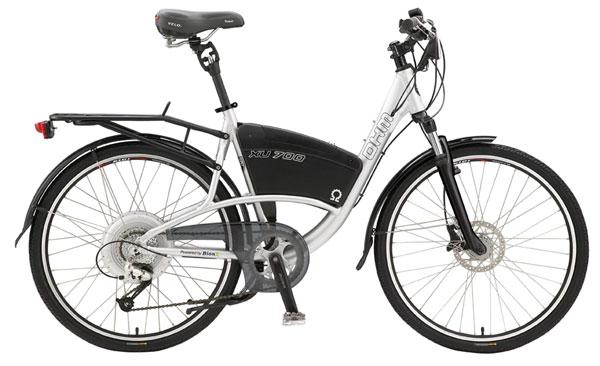 Гибридные велосипеды с двигателем