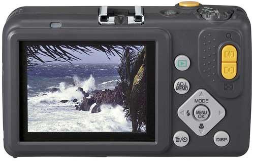 Пыле-влаго-ударостойкая камера Ricoh G600