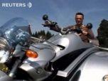 Британский мотоцикл для инвалидной коляски