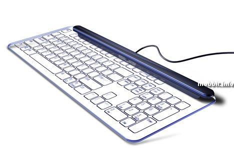 Клавиатура, Концепт, Стекло