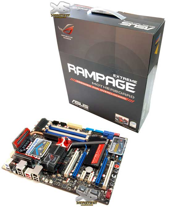 Плата ASUS R.O.G. Rampage Extreme