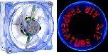 Надписи на лопастях вентилятора