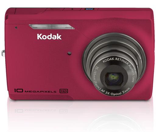Kodak M1093 IS: фотокамера для съемки HD-видео