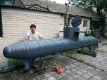 Китаец собрал собственную подводную лодку