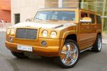 "Автомобиль-""мутант"" HUMMER-Bentley"