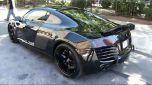 Audi R8 Blackbird – тюнингованный суперкар + видео