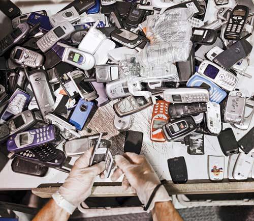 Как умирают мобильные телефоны