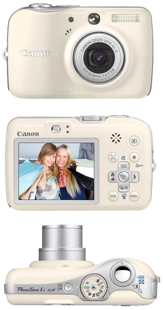 Новие модели камер Canon PowerShot