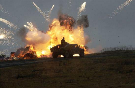 Безвоздушным шинам NPT не помеха ни пуля, ни мина