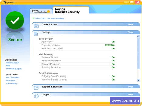 Norton Internet Security 2009 16.0.0.125