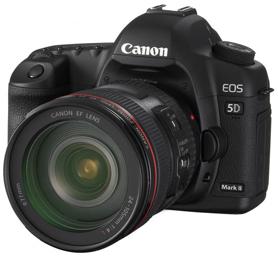Full HD зеркалка Canon EOS 5D Mark II