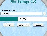 File Salvage 2.0 - чтения повреждённых дисков