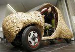 Японцы создали бамбуковый автомобиль