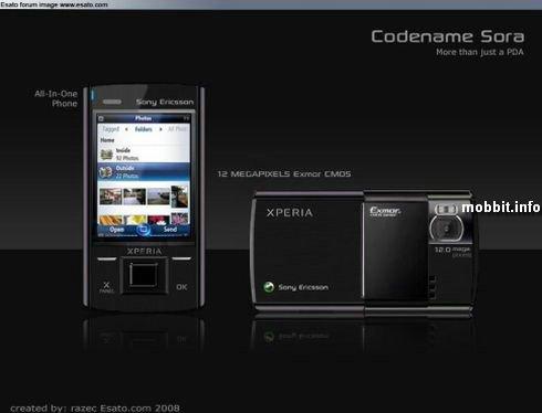 Sony Ericsson, Xperia, Sora
