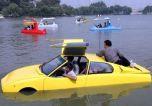 Китаец создал автомобиль-амфибию