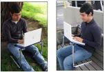 """Столик и охлаждение для ноутбука в одном """"флаконе"""""""