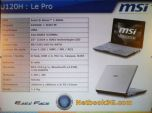 MSI анонсировала сразу три модели нетбуков
