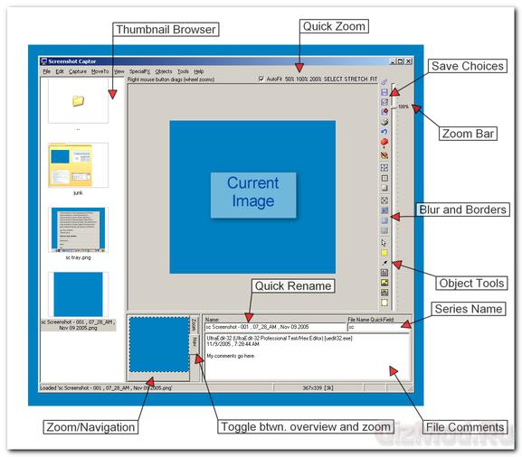 Screenshot Captor 2.93.01 - создание скриншотов