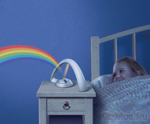 Домашний проектор-радуга: Rainbow In My Room