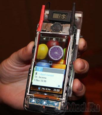 Прозрачная солнечная батарея появиться в мобилках