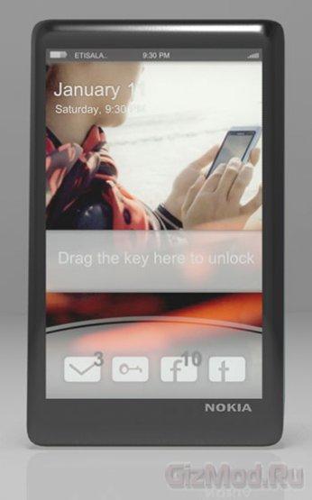 Концепт смартфона Nokia N18