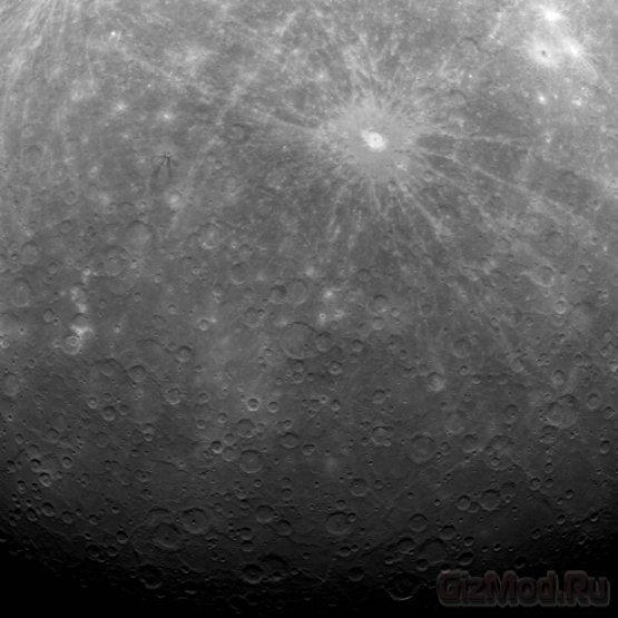 Первый снимок с орбиты Меркурия