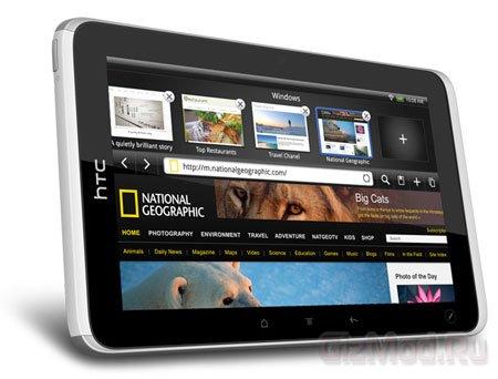 Демонстрационное видео планшета HTC Flyer