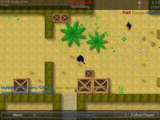 Counter-Strike 2D 1.1.9 - римейк популярной игры