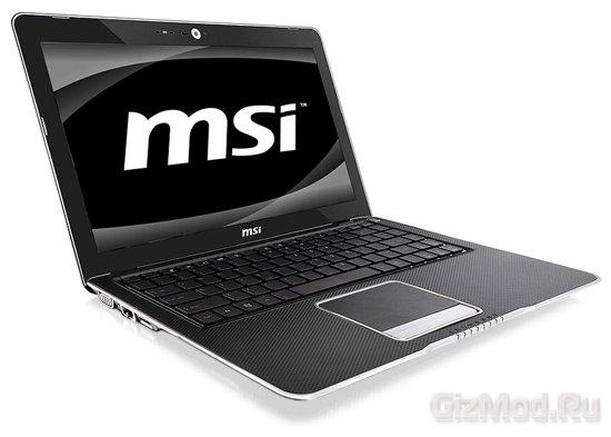 Ноутбук MSI X-Slim X370 на платформе AMD Brazos