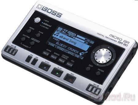 BOSS MICRO BR BR-80 - студия звукозаписи в кармане