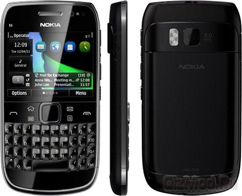 Nokia E6 и X7 с интерфейсом Symbian Anna