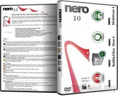 Nero BurnLite 10.6.10800 Free - пишем диски качественно