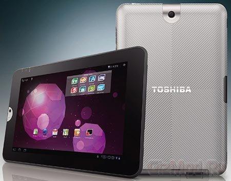 Планшет Toshiba Regza AT300 с ОС Android 3.0 за $720