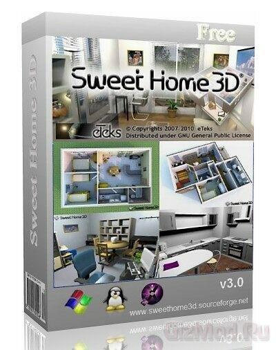 Sweet Home 3D 3.7 - моделирование дома