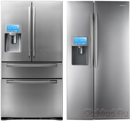 Умные холодильники Samsung