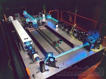 Лазер на ядерном свете