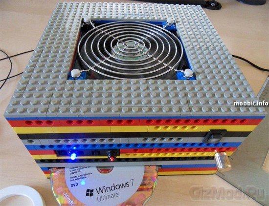 Компьютерный корпус из LEGO