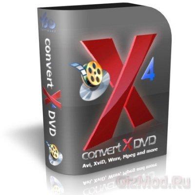 ConvertXtoDVD 5.0.0.33 - удобный конвертер